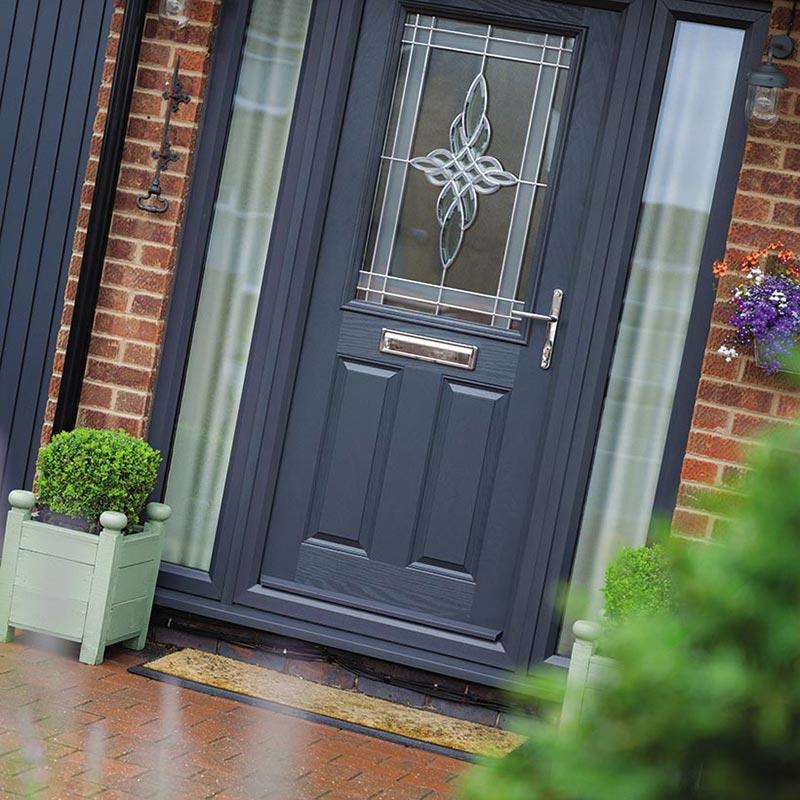 Grey Composite Door Design