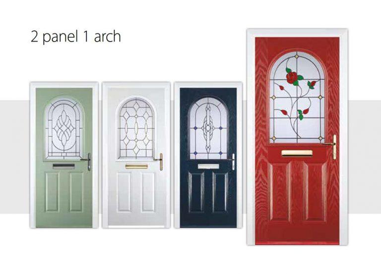 2-panel-1-arch-door