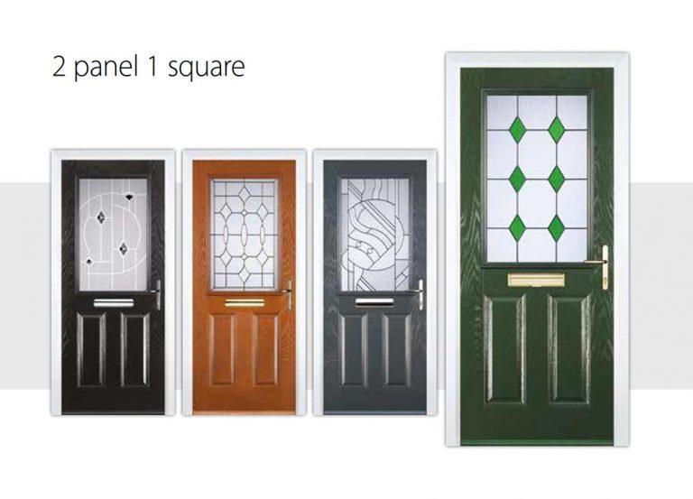 2-panel-1-square-door