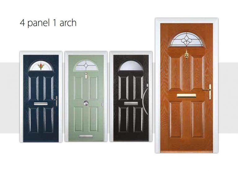 4-panel-1-arch-door