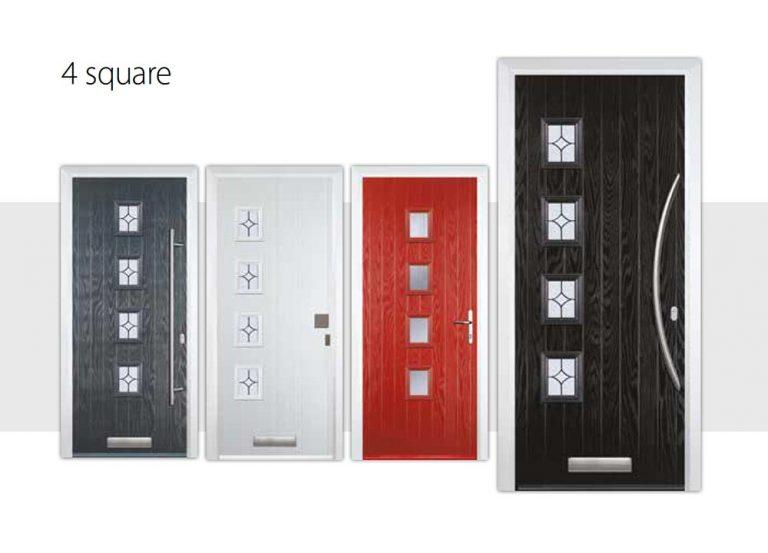 4-square-door