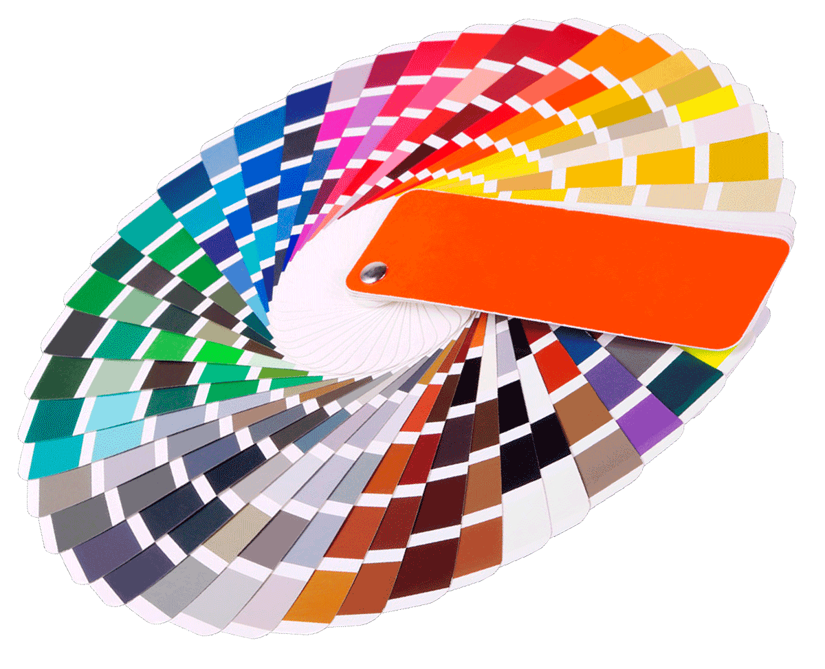 UPVC colour wheel