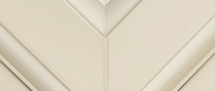 cream upvc window frame