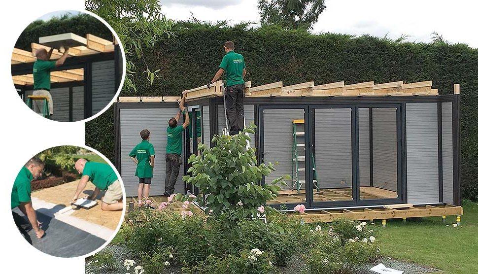 garden room roofing