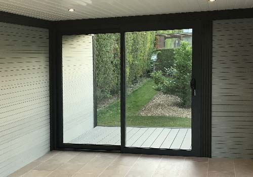 patio doors for garden room