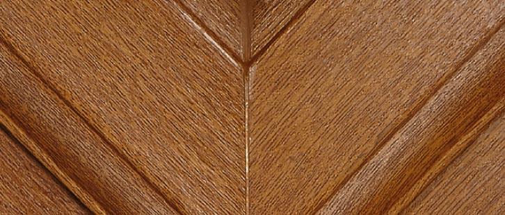Golden Oak upvc window frame