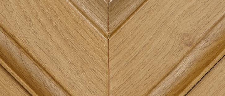 Irish Oak uPVC Frame